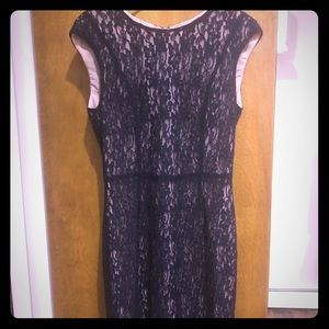 French connection lace sleeveless dress